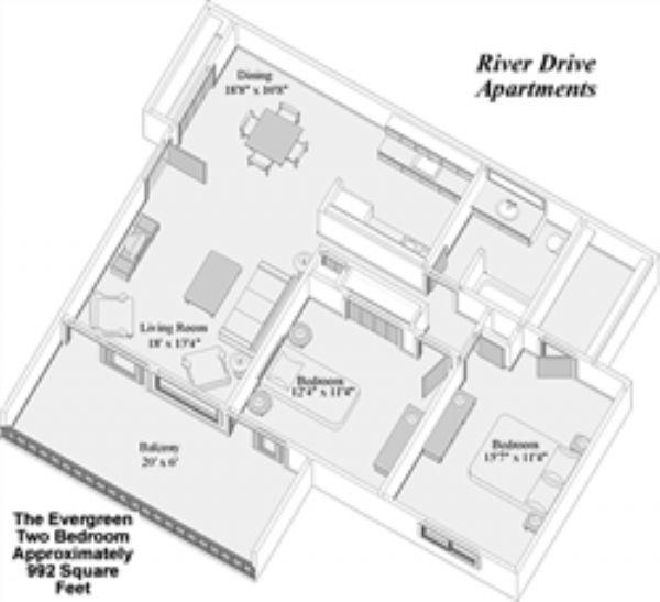 Huron View Apartments In Ypsilanti Michigan: River Drive Apartments In Ypsilanti, Michigan