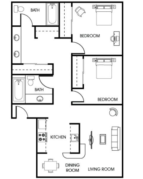 Apartments In Downey California: Parc At 5 Apartments In Downey, California