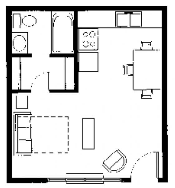 Pawnee Park Apartments In Wichita, Kansas