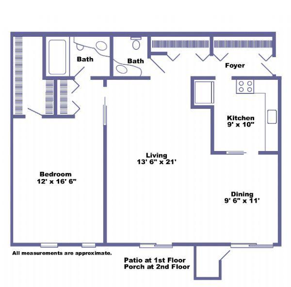 Farmington Hills Mi Apartments For Rent: Hunters Ridge Apartments In Farmington Hills, Michigan