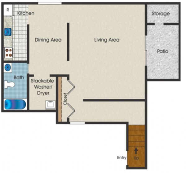 Riverton Knolls Apartments In West Henrietta, New York