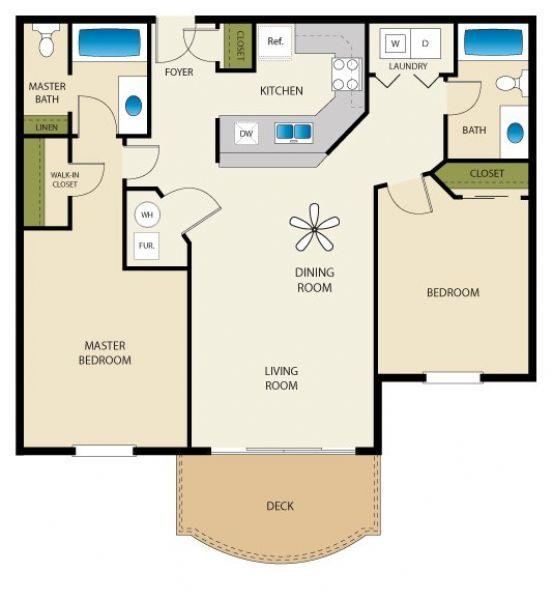 Cheap Apartments In Utah: Palladio Apartments In Salt Lake City, Utah