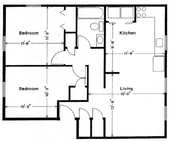 Apartments For Rent In Lynchburg Va: Beechwood Court Apartments In Lynchburg, Virginia