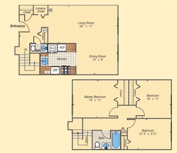Fairfax Square Apartments: Copperfield Square Apartments In Fairfax, Virginia