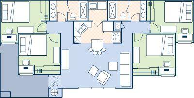 Campus Courts Apartments Oxford Ohio