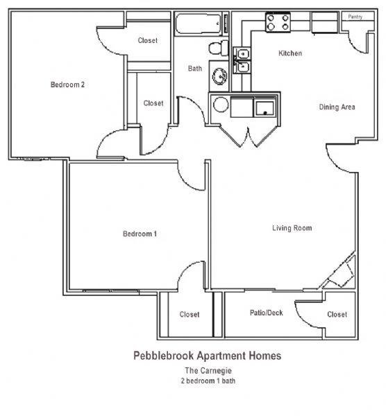 One Bedroom Apartments Manhattan Ks: Pebblebrook Apartments In Manhattan, Kansas
