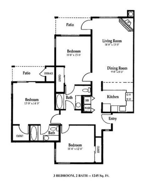 Chase village apartments in eugene oregon - 3 bedroom apartments eugene oregon ...