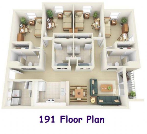 Sunchase apartments harrisonburg virginia latest bestapartment 2018 for 2 bedroom apartments harrisonburg va