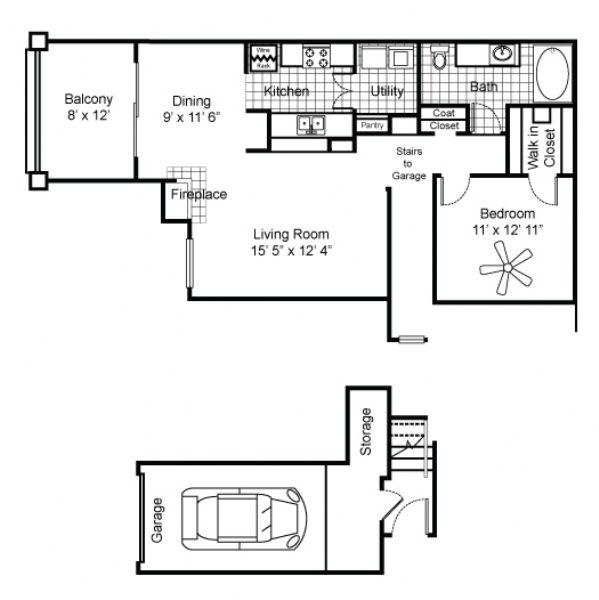 Prairie Creek Villas Apartments In Richardson, Texas