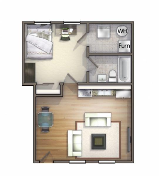 University village carbondale apartments in carbondale - One bedroom apartments in carbondale il ...