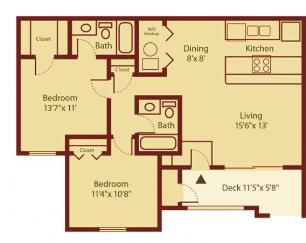 Windgate at bountiful apartments in bountiful utah for 2 bedroom apartments plans