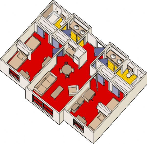 Two Bedroom Double Occupancy