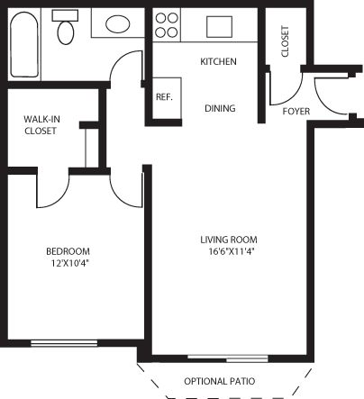 Spice tree apartments in ann arbor michigan for Small basement apartment floor plans