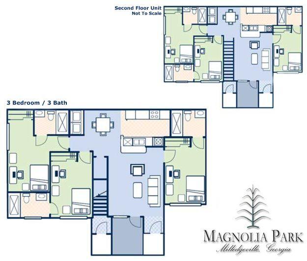 Magnolia Park Apartments: Magnolia Park Apartments In Milledgeville, Georgia