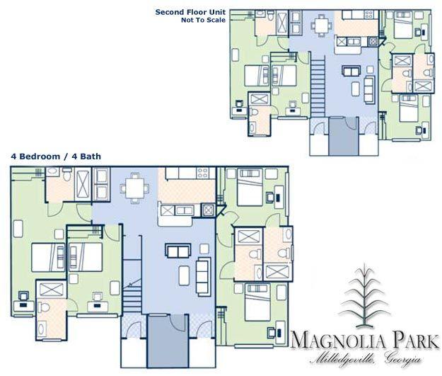 Magnolia Park Apartments In Milledgeville, Georgia
