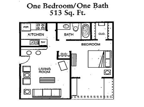 Cimarron apartments in abilene texas for Apartment plans under 500 sq ft