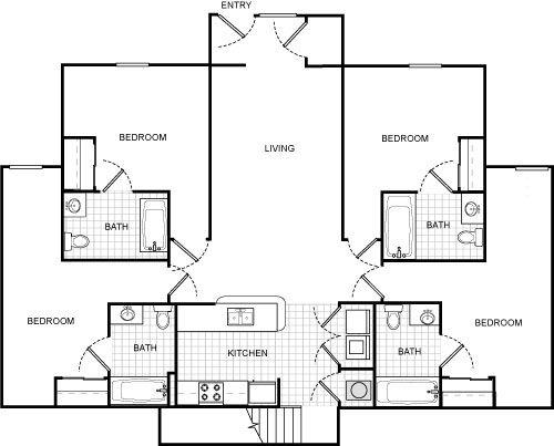 U Club Binghamton Apartments In Vestal New York