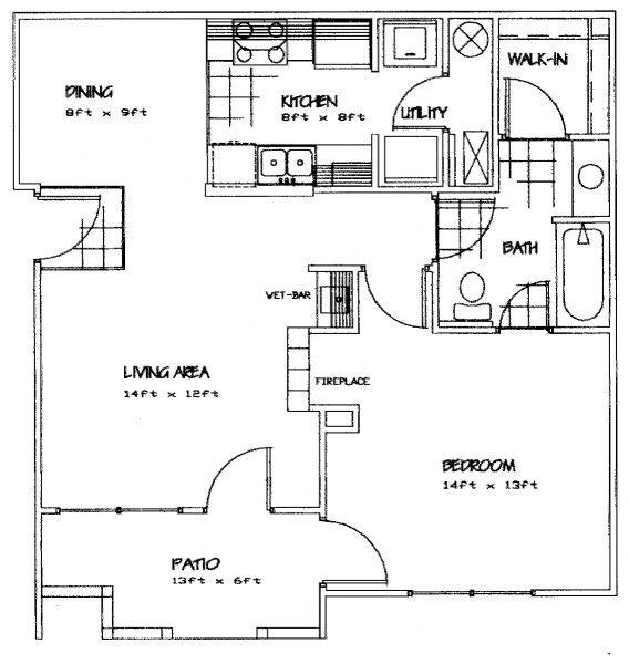 Tuckaway Apartments In Lawrence, Kansas