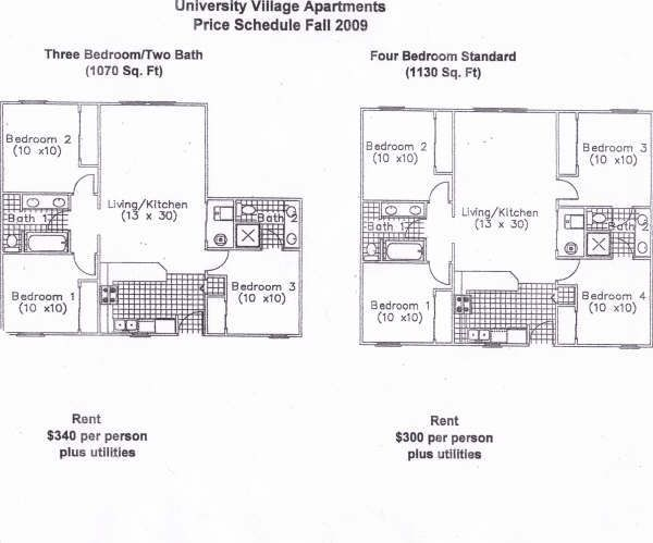 Indiana State University Apartments Terre Haute In