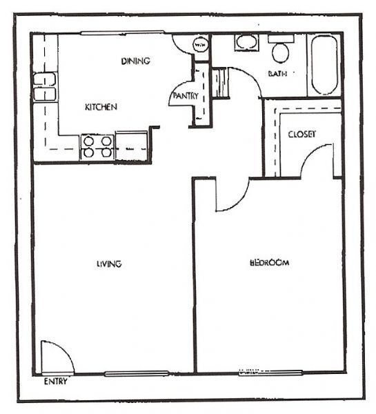 Cheap Apartments In Fresno Ca: Laurel Canyon Apartments In Fresno, California