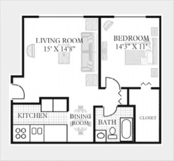 Riverstone Apartments In Bolingbrook Illinois