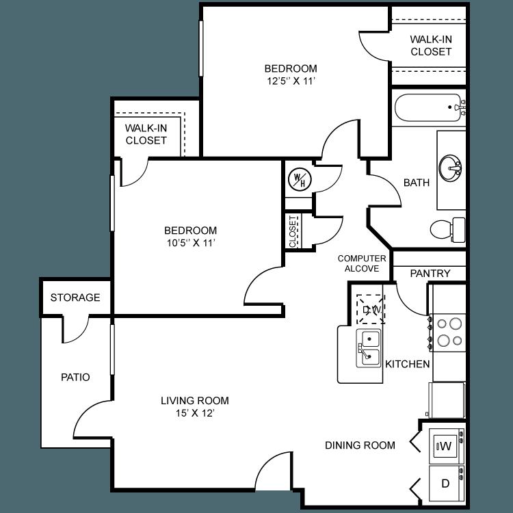 Dakota Ridge Apartments In Littleton, Colorado