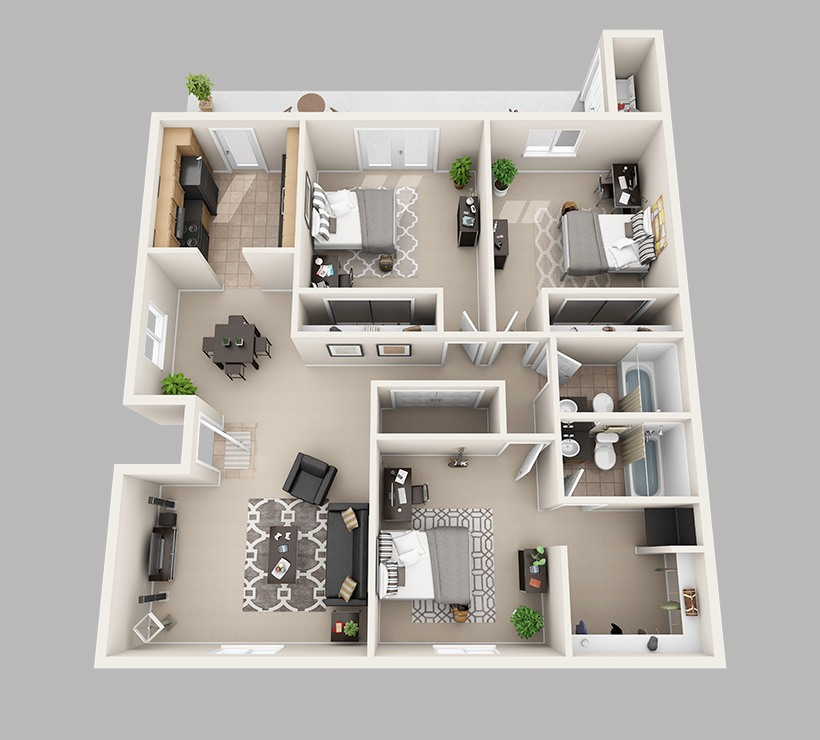 Lux 13 Apartments In Gainesville Florida