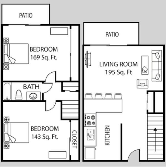 Asu Crossroads Apartments In Tempe Arizona