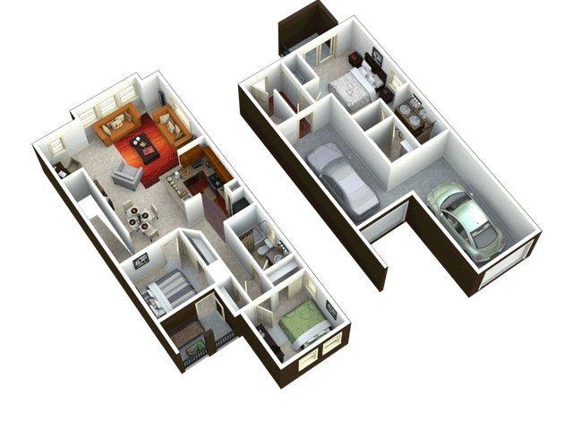 Ravenwood heights apartments in tempe arizona for Hardwood floors 1500 square feet