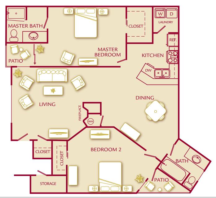 The Polo Club Apartments In Mesa, Arizona