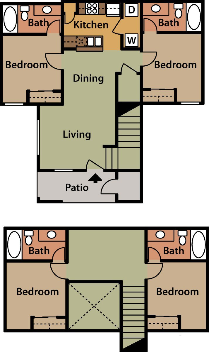 3 Bedroom Apartments Tucson The Springs Apartments Rentals