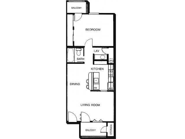 Promontory apartments in tucson arizona for 675 sq ft floor plan