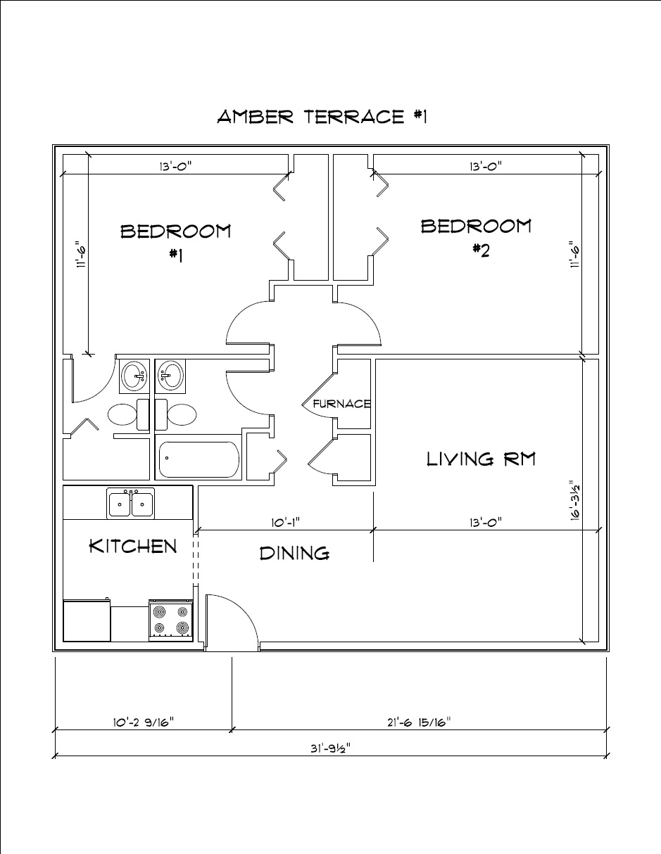 Amber Terrace Apartments In Cedar Falls Iowa