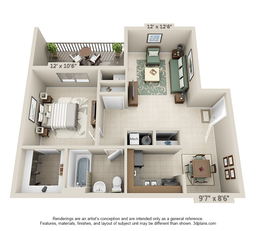 Apartments In Carbondale Il: Brookside Manor Apartments In Carbondale, Illinois