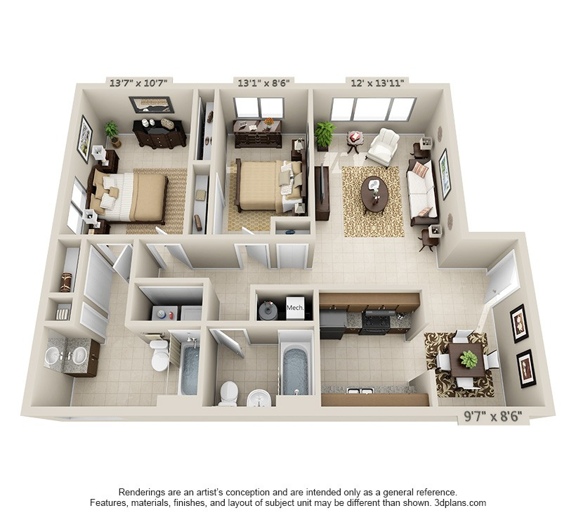Superb Floor Plans: