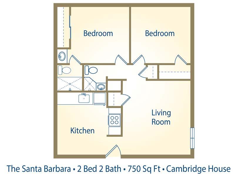 Cambridge House Apartments In Davis, California
