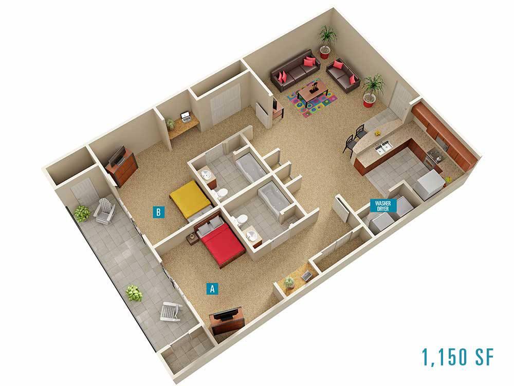 Campus Evolution Villages Apartments In Spartanburg South