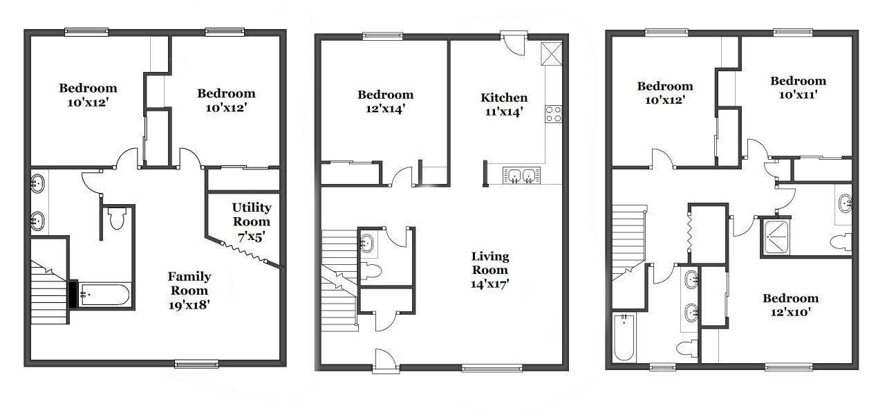 West Campus Village Apartments In Kalamazoo Michigan