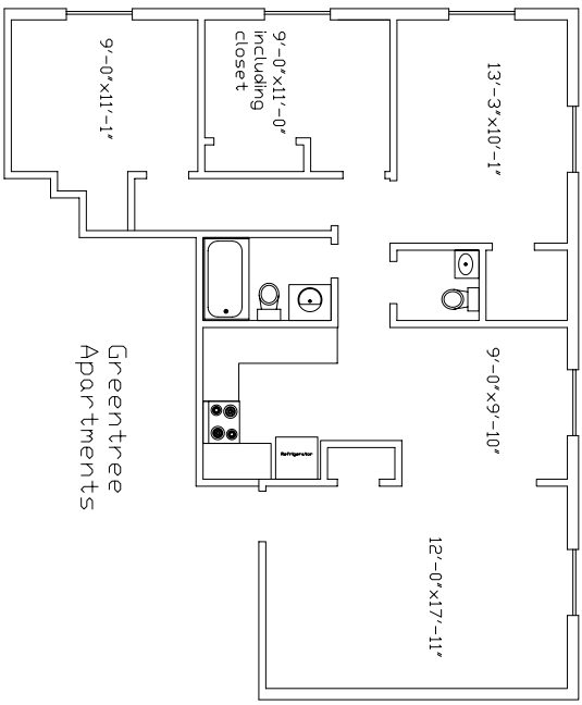 Greentree apartments in bozeman montana for 3br 2ba floor plans