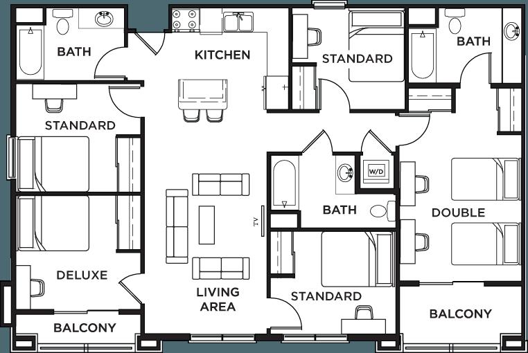 Icon Plaza apartments in Los Angeles California