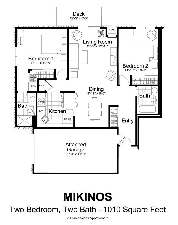 Olympic ridge apartments in eden prairie minnesota for Rental property floor plans