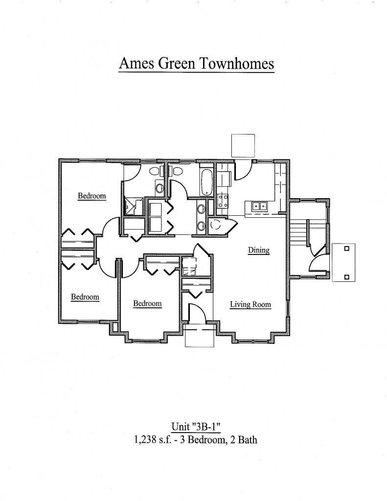 Ames lake neighborhood apartments in st paul minnesota for 3br 2ba floor plans