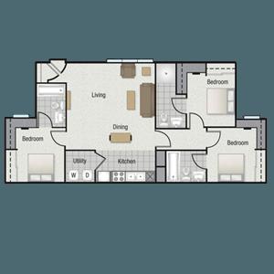 castle rock apartments in denton texas