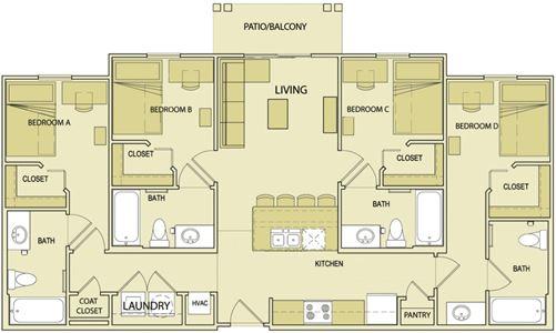 Vista Place Apartments In Russellville Arkansas