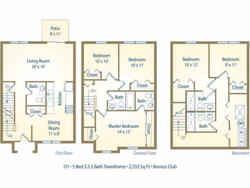 The Bronco Club Apartments In Kalamazoo Michigan
