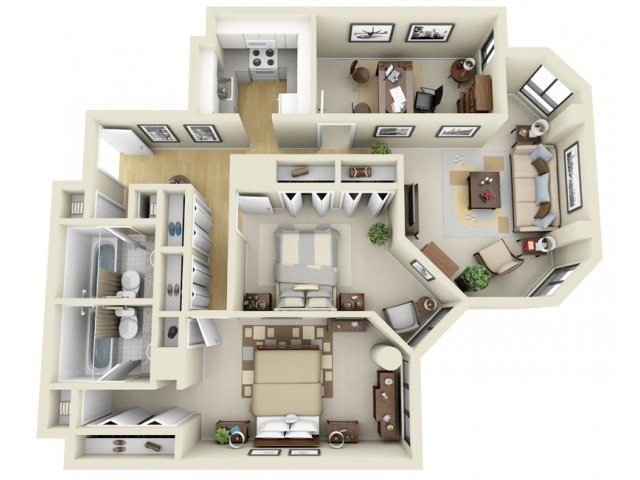 The greenhouse apartments in boston massachusetts for Greenhouse floor plan