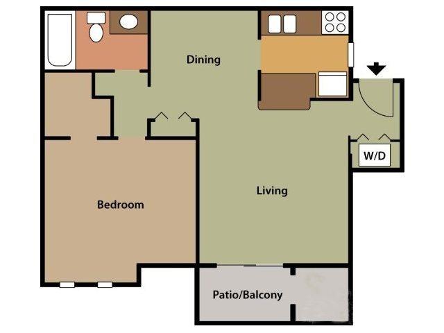 Heather Ridge Apartments Floor Plans