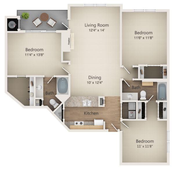 Ashford Lakes Apartments: Ashford Green Apartments In Charlotte, North Carolina