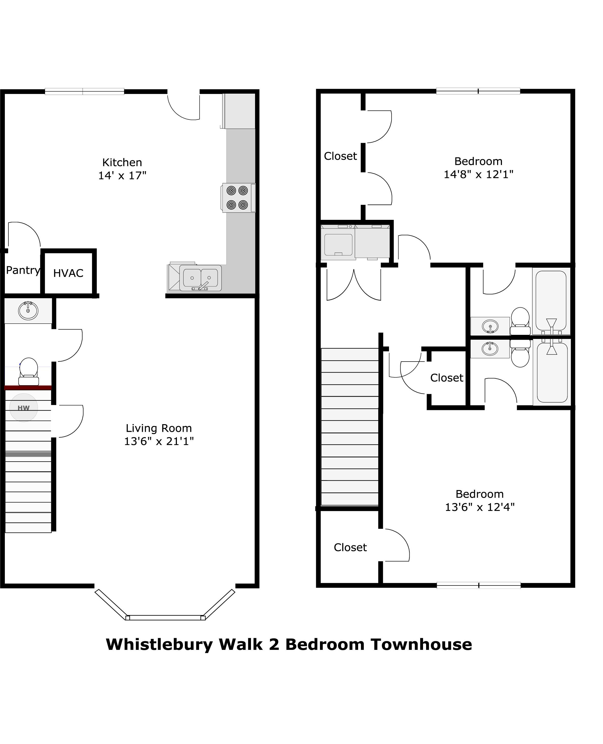 Whistlebury walk apartments in athens georgia for Small rental house plans