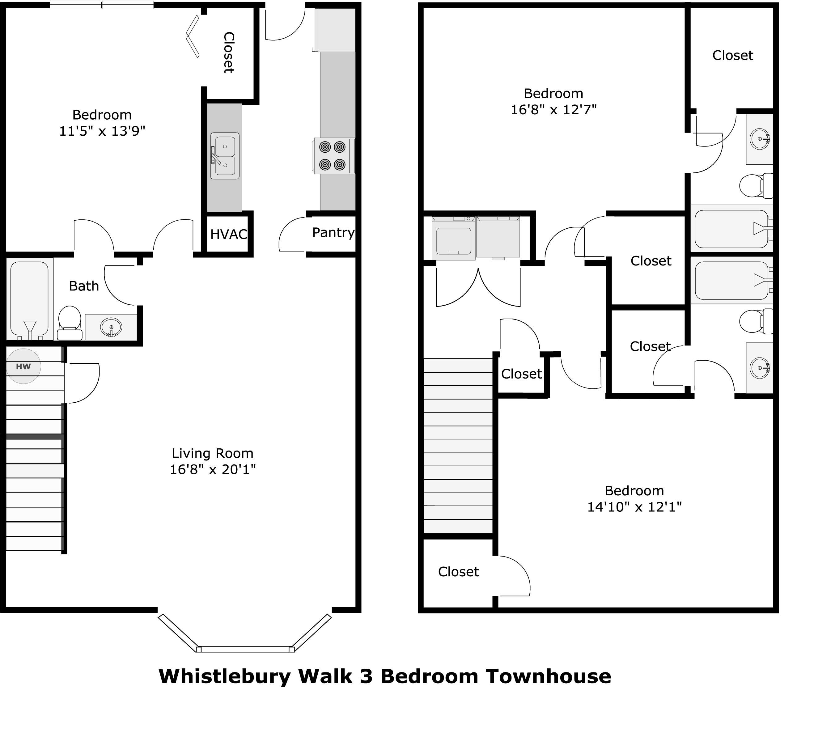 Whistlebury walk apartments in athens georgia 3 bedroom apartments in athens ga